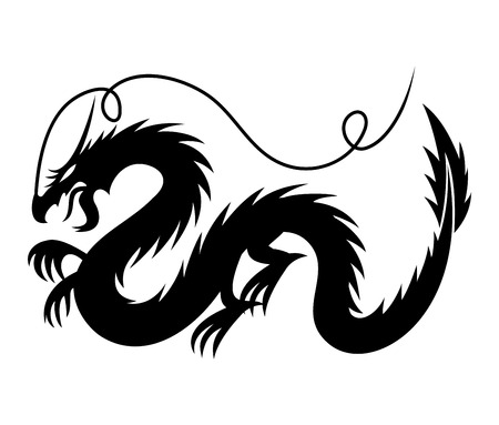 Dragon sign Vector