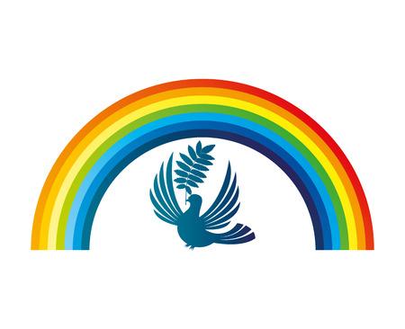 Rainbow. Vector