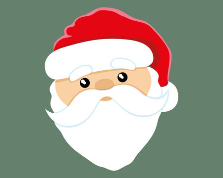 claus: Santa Claus. Illustration