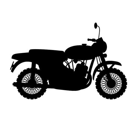 sports symbols metaphors: Motorcycle.