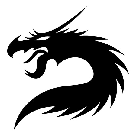 Dragon. Vector