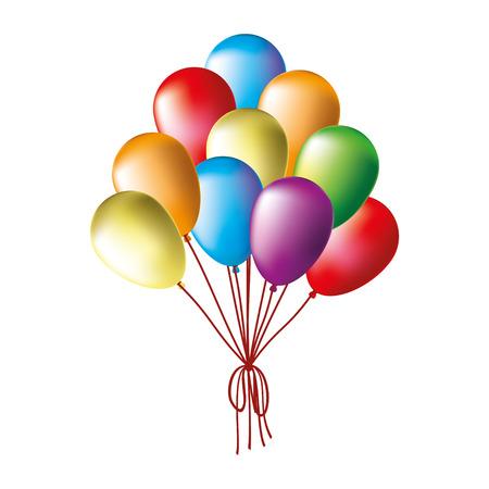 ballons: Ballons. Illustration