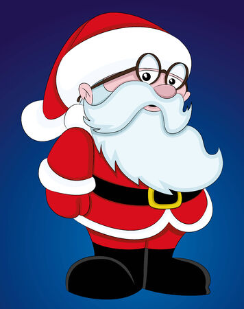 clip art santa claus: Santa Claus. Illustration
