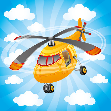 Hubschrauber.