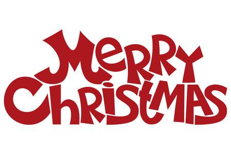 Vrolijk Kerstfeest. Stock Illustratie