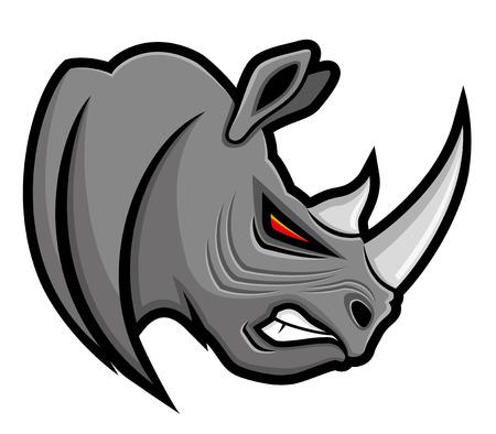 rhino: Rhinoceros.