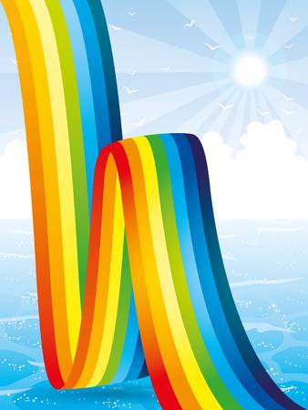 rainbow: Rainbow. Ilustra��o