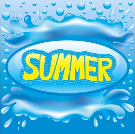 verano: Verano. Vectores