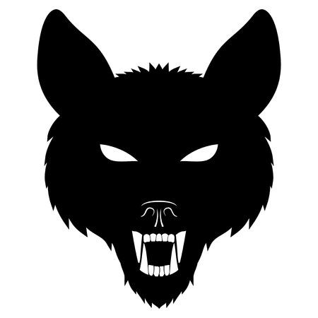 Wolf. Vector