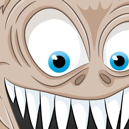Monster illustration Vector