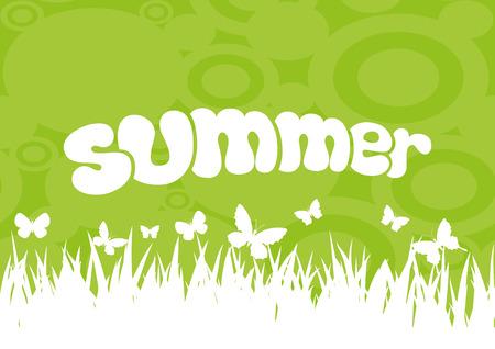 summer: Лето. Иллюстрация