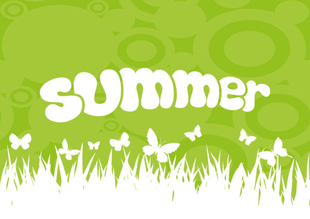 in the summer: Summer.