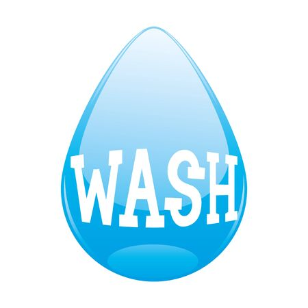 wash: Wash. Illustration