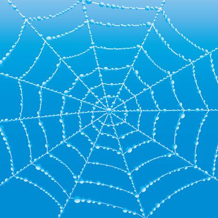 Cobweb. Stock Illustratie