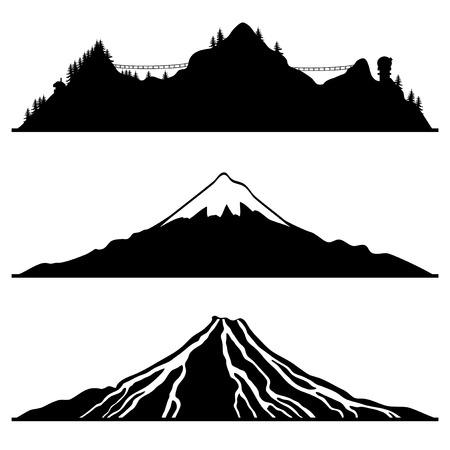 Mountain. Vector