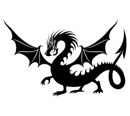 flying dragon: Dragon.