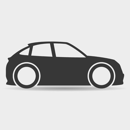 car race track: Car.