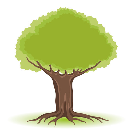 Tree. Illustration