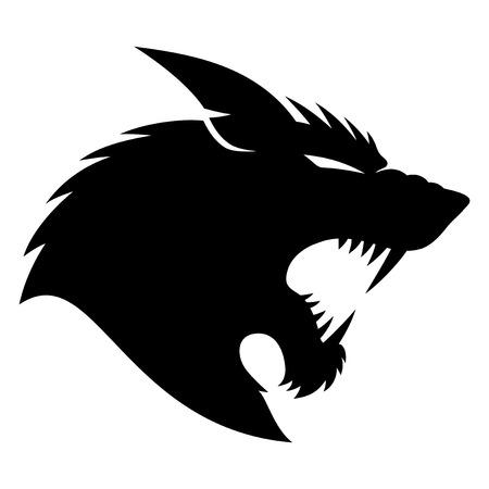 monster tattoo: Werewolf.