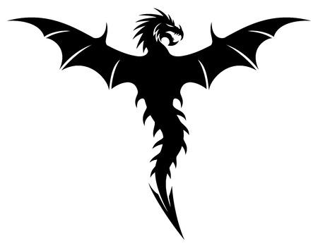 ドラゴン。  イラスト・ベクター素材