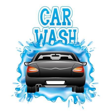 lavar: Auto lavado.