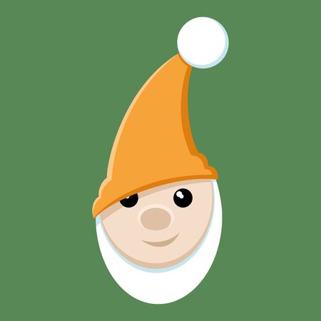 gnome: Gnome. Illustration