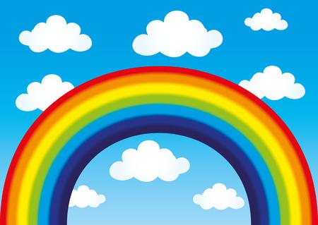 Rainbow. Ilustração