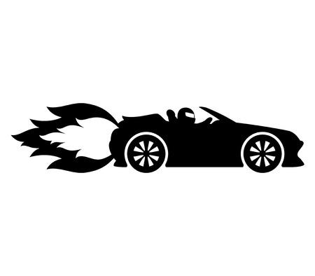 Fast car.  イラスト・ベクター素材