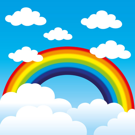 Rainbow. 向量圖像