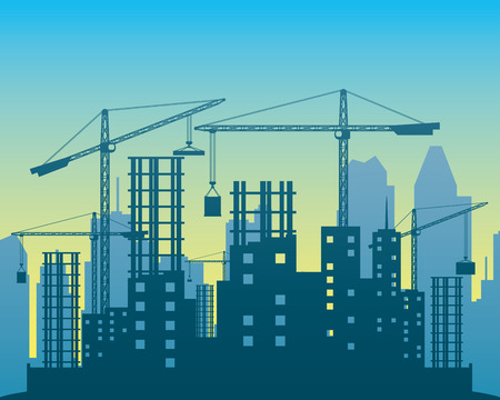 Construction. Ilustração
