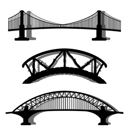 Bridges. 版權商用圖片 - 43872587