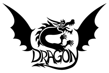 flying dragon: Dragon.