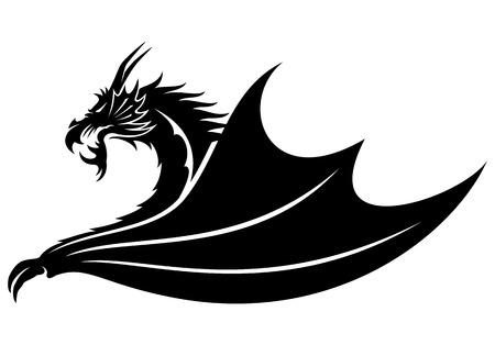 tribal dragon: dragon