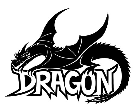 tribal dragon: Dragon.
