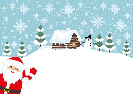 santa claus background: Santa Claus background with space for text.