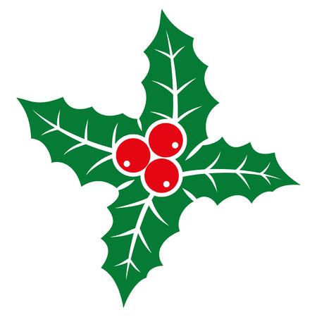 aquifolium: Holly berry icon.