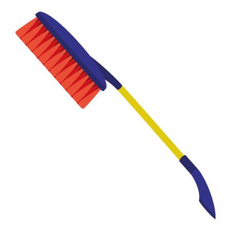 scraper: Car brush.
