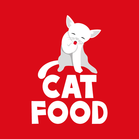 hissing: cat food