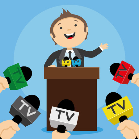 press conference: Press conference.