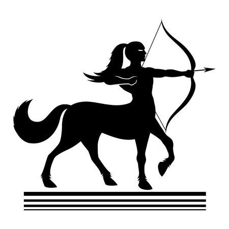 centaur: Strong centaur archer.