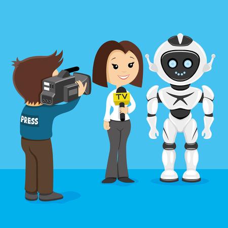 videographer: robot