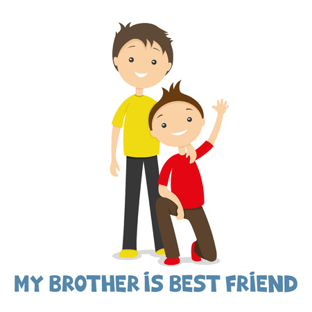 brothers: Brothers. Illustration