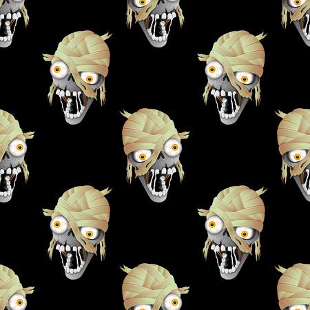 Zombie Kopf.