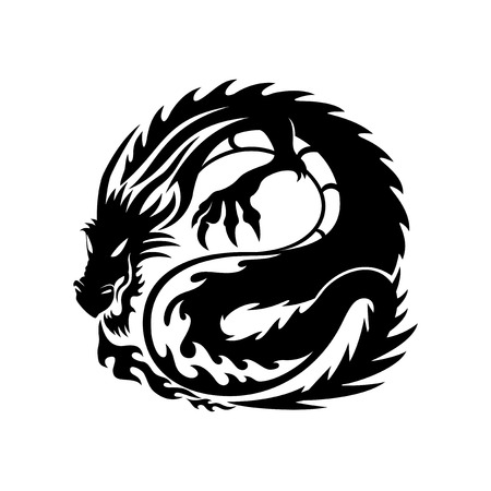Dragon. 版權商用圖片 - 61020781