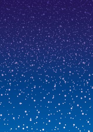 Chute de neige.