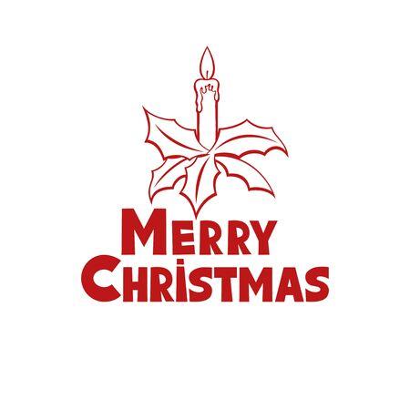 aquifolium: Christmas candle.