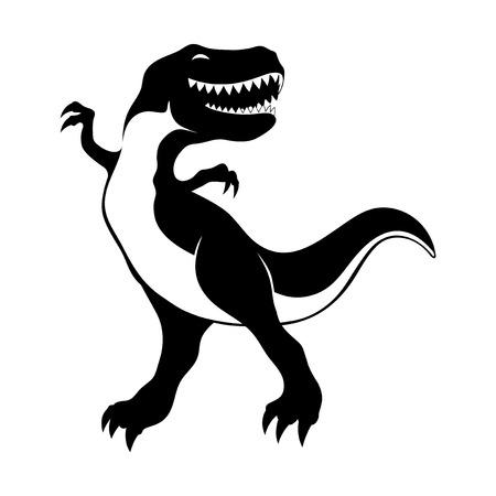 Cute dinosaur. Illustration