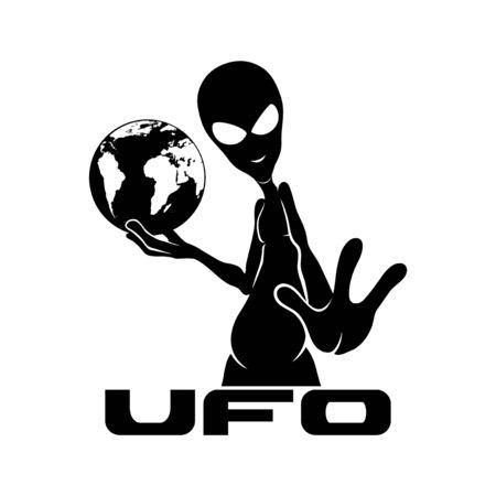 Alien sign.