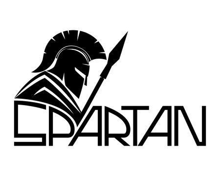 Spartan. Stock Illustratie