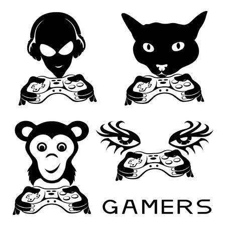 gamer: Gamer signs.